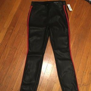 [BLANKNYC] black faux leather pants